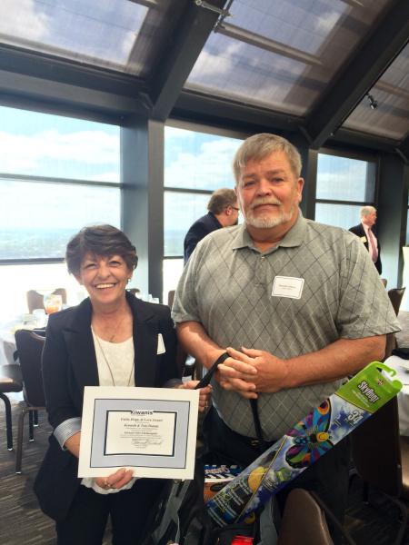Foster Parents Receive Award